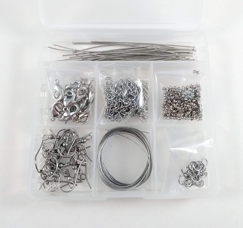 Coffret de fabrication de bijoux: Matière première