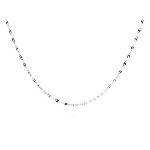 Chaîne coupe diamant Mia, Acier inoxydable, Argenté