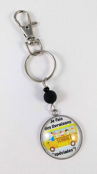 Porte-clés ''Je fais des livraisons spéciales'' (#46)