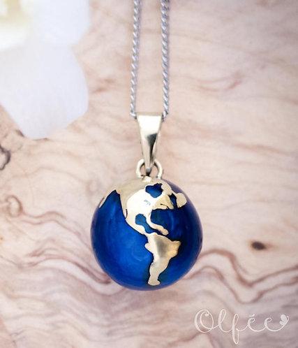 Bola Olfée: Collier de grossesse musical (#3 Planète Terre)