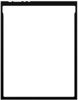 Motion graphics Black Frame