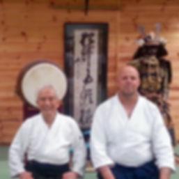 Sensei & Peter Kelly