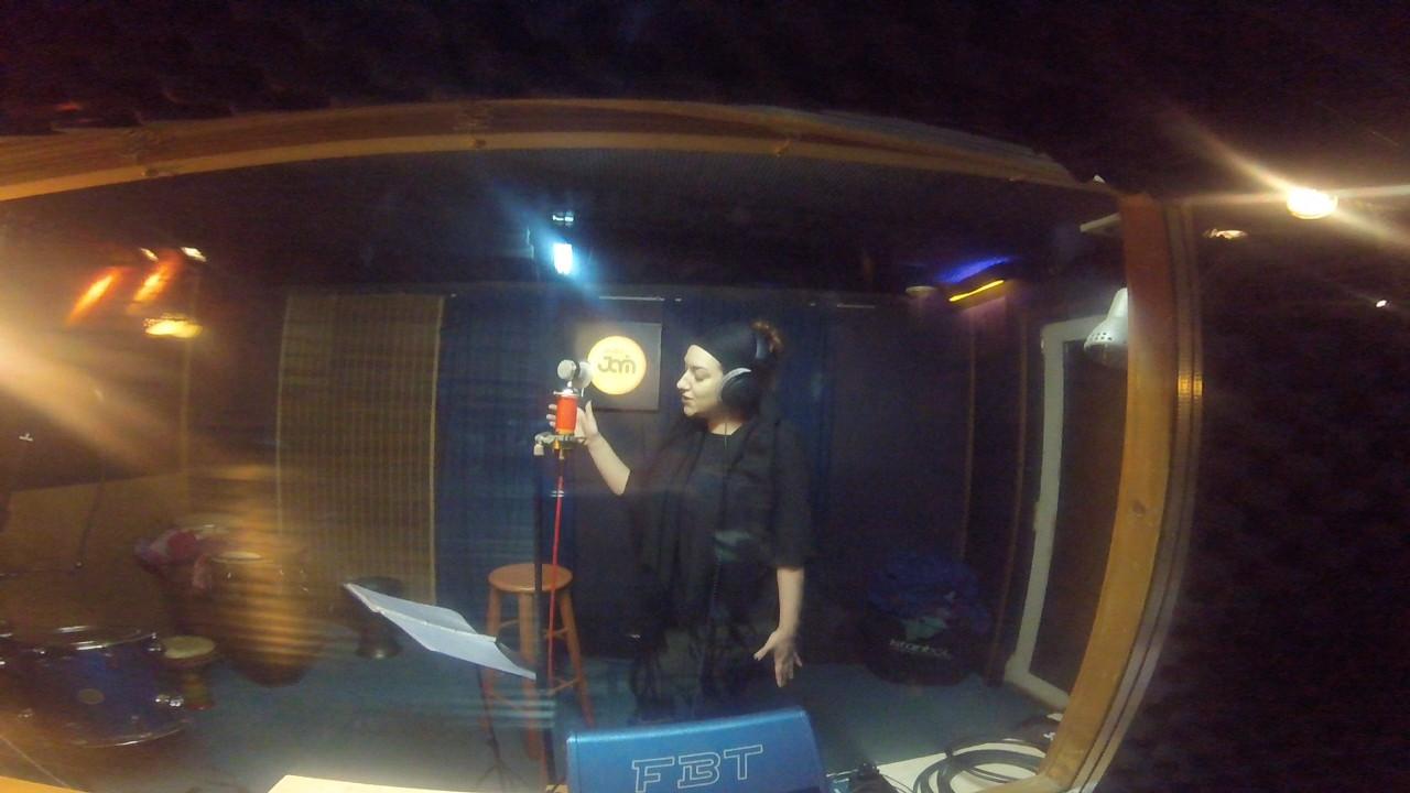 Apagorevmena mila' at work, for their new track -Taxidiotis-