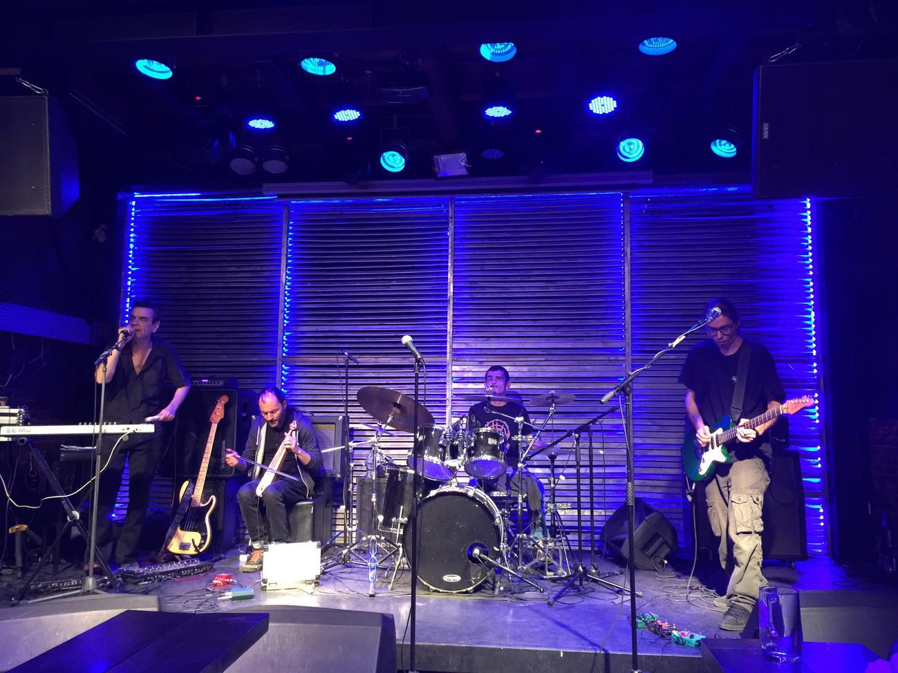 "Jammusic present , project ""TERRA MONO"" at music stage' Blue Barrel'"
