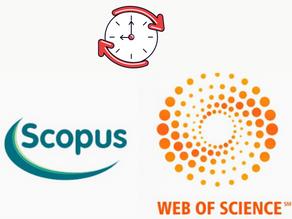 От чего зависят сроки публикации научных статей в Scopus и Web Of Science