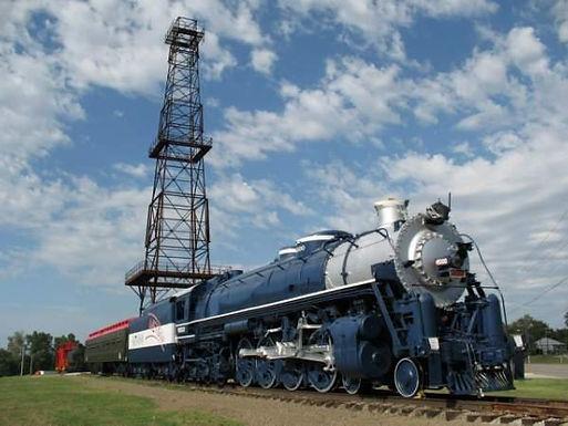 restored Frisco 4500 steam engine