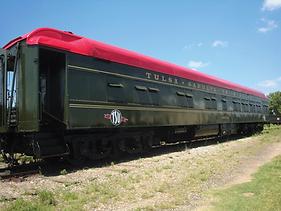 restored Tulsa-Sapulpa Union Murray Hill Rail Car