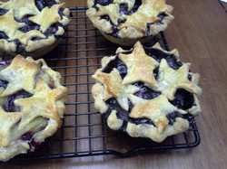 Small Blueberry Pies