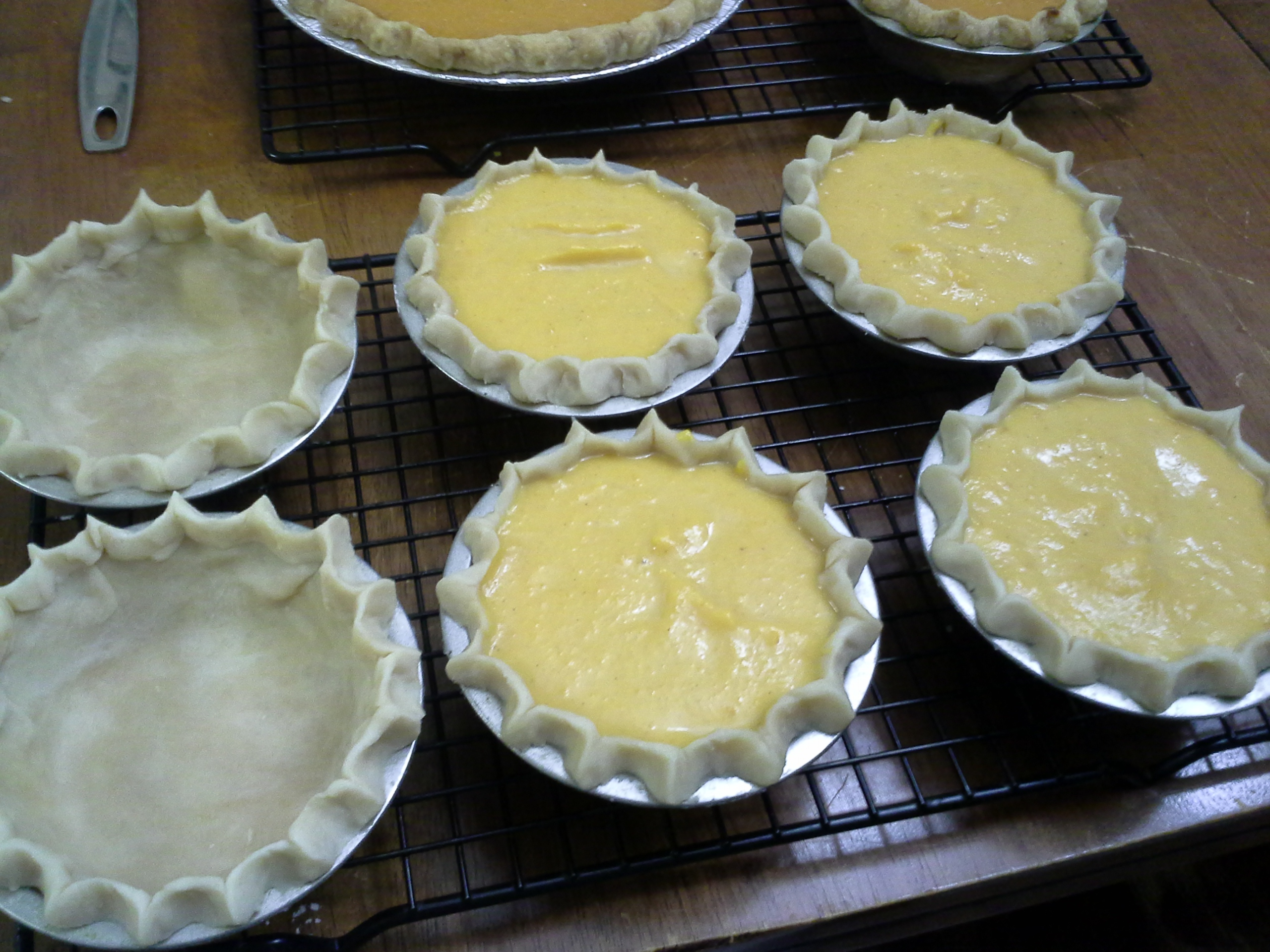 Small SP Pies shells & Unbaked