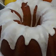 Glazed Covered Cake