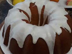 Glaze Covered Cake