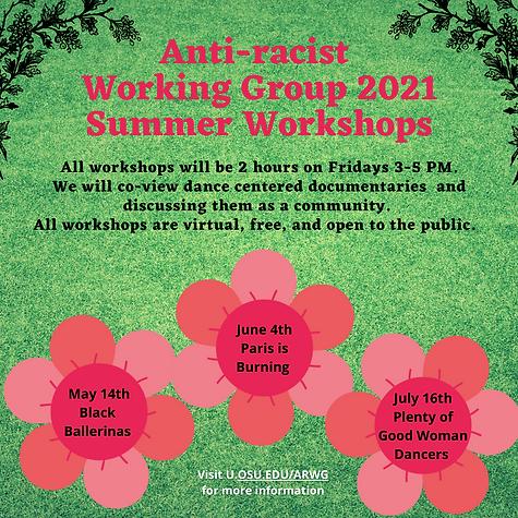 Anti-racist Working Group Summer Worksho