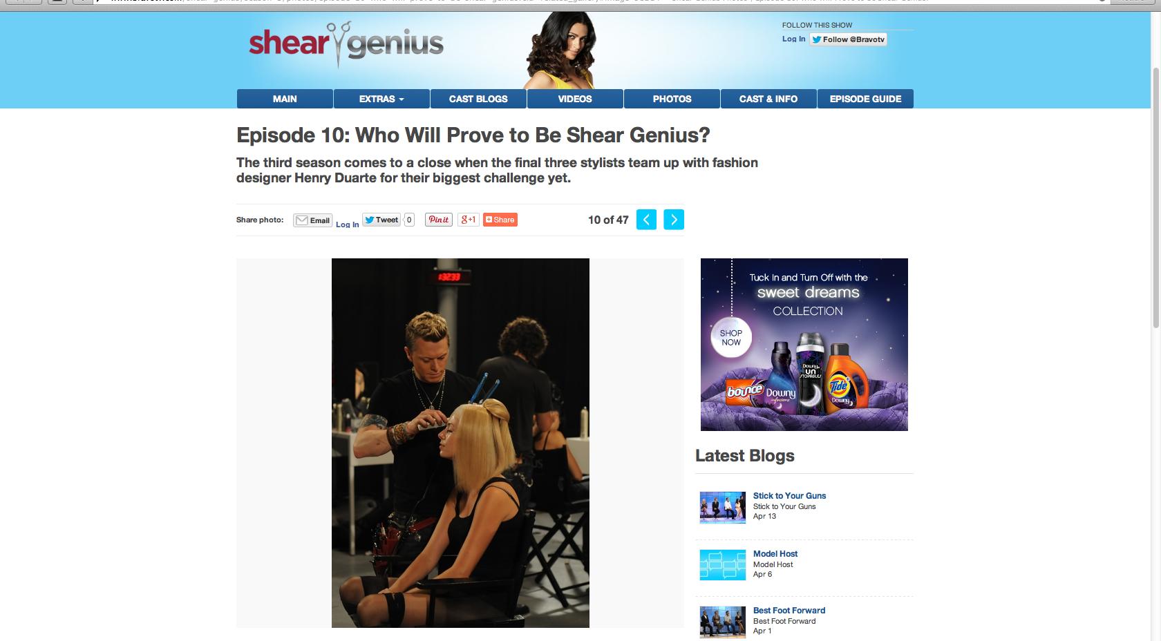 Bravo's Shear Genius