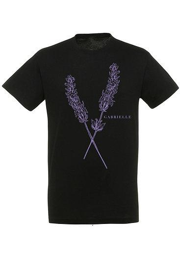 LAVENDER Logo T-Shirt - Black