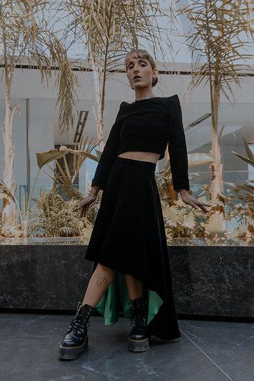 ELVIRA High Low Skirt