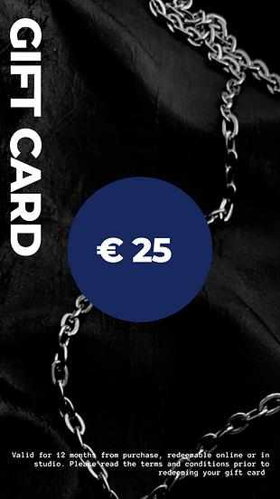 Gift Card - €25