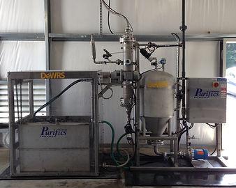 Dewatering with zero liquid discharge
