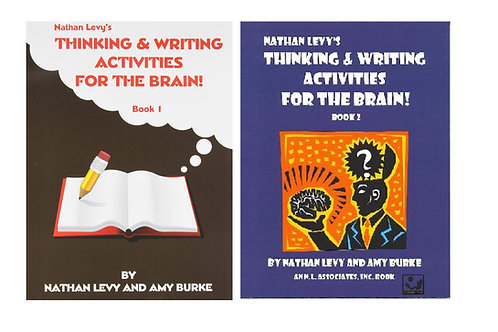 Thinking and Writing Activities for the Brain:  Book 1 & Book 2 Combo