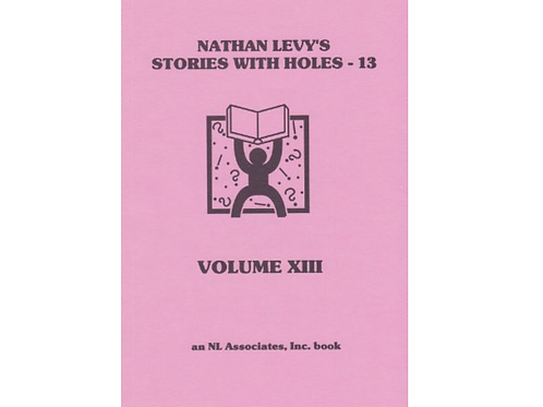 Stories with Holes: Volume 13