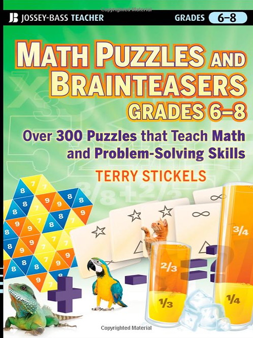 Math Puzzles and Brainteasers, Grades 3-5: Over 300 Puzzles that Teach Math