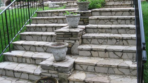Fond du lac Stone Steps & Wall