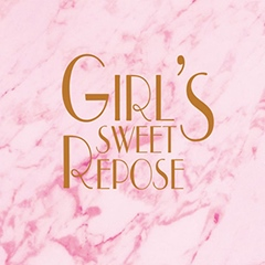 Apink Girl's Sweet Repose