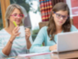 A one-on-one tutoring session in Delaware County, PA