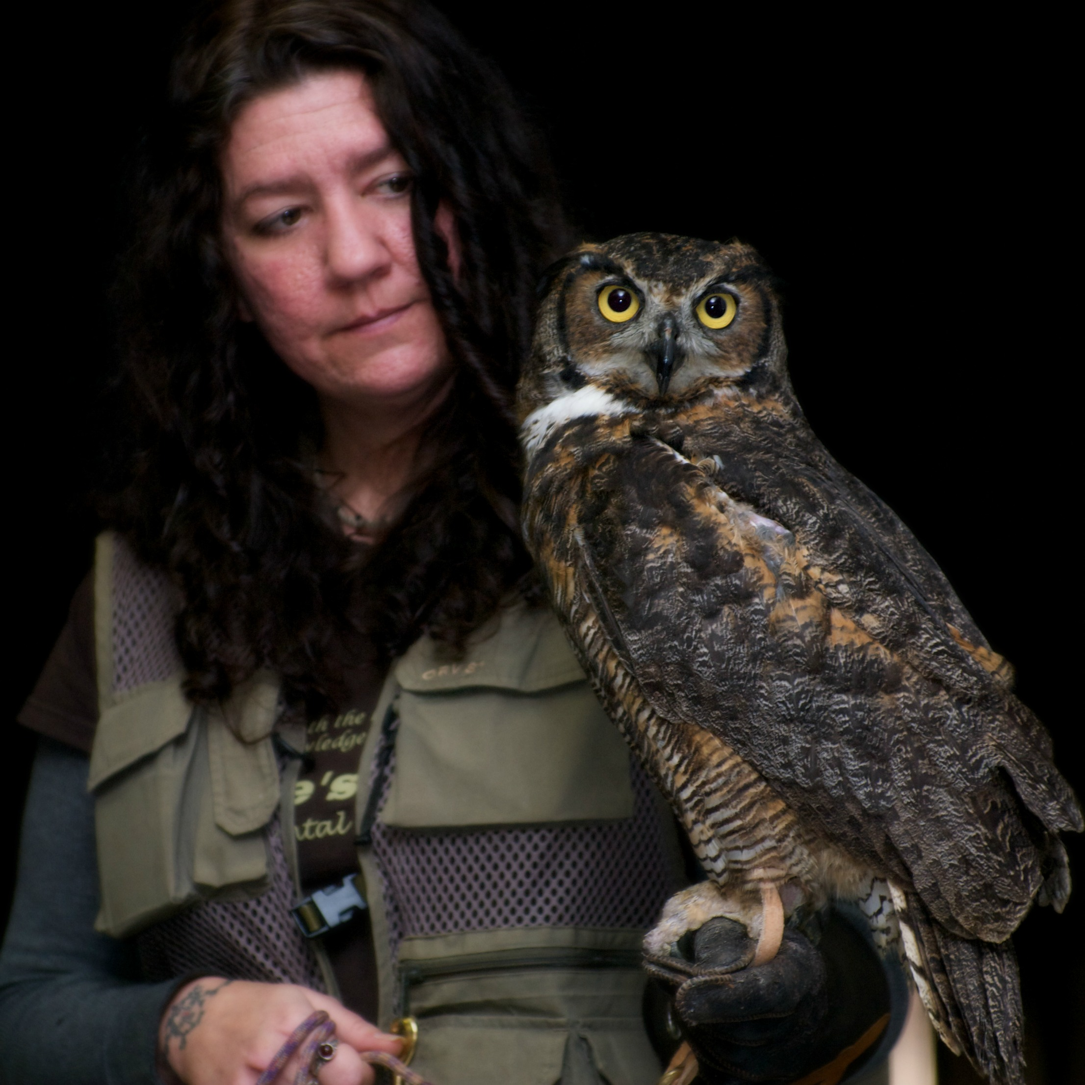 Great Horned Owl  with Tauna Jean.jpg