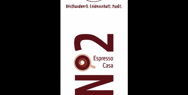 No2 - Espresso Casa, 100% Arabica