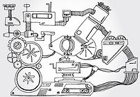 máquina Boceto