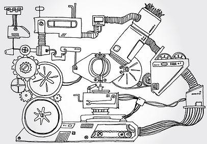 macchina Sketch