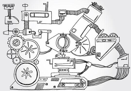기계 스케치