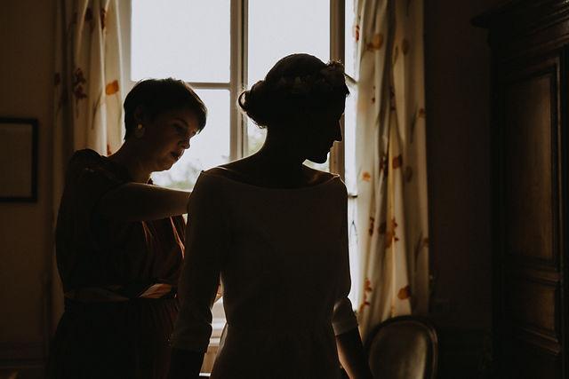 Contre-jour - photographie de mariage
