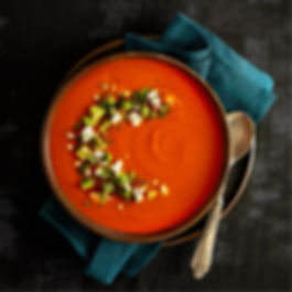 Roasted-red-pepper-and-tomato-cream-soup