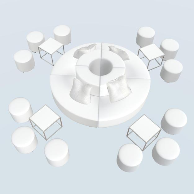 Round Center Lounge