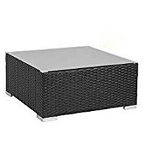 Dimanche Black Outdoor Coffee Table