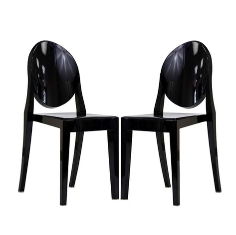 Black Casper Dining Chair