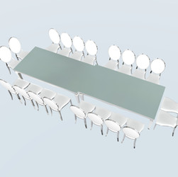 Double Cartier Dining Table