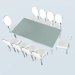 10 Seater Cartier Dining Table