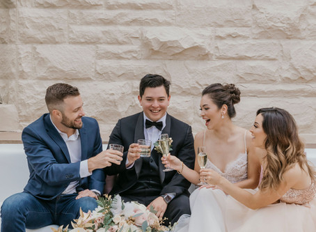 Wedding Reception Trend your Guests Can Cozy Up To