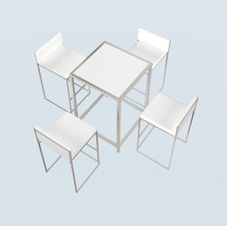 4 Seater Capital Cocktail Table