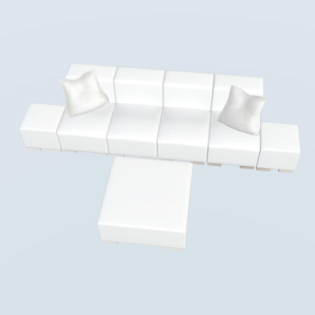 Single 4-6 Seater Lounge