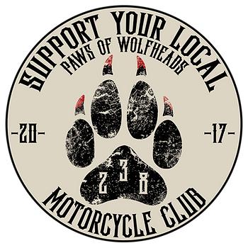 Wolfheads MC Supporter Logo