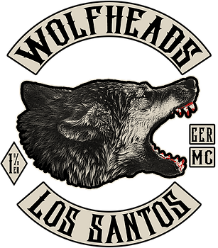 Wolfheads MC Logo