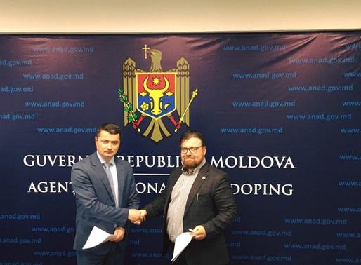 La 4 martie 2020 - A în incinta Agenției Naționale Antidoping a Republicii Moldova