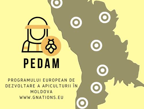 Vă rugăm să completați acest formular pentru a vă înregistra la proiectul PEDAM.