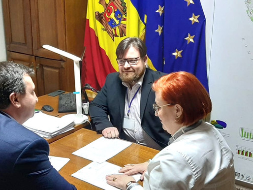 """În cadrul Acordului de colaborare, încheiat între Agenția """"MOLDSILVA"""" și AO """"Green Nations"""""""