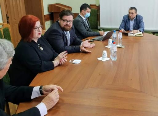 """Directorul Agenției """"Moldsilva"""", Dumitru Cojocaru a avut o întrevedere de lucru cu Denis Cernomoreț"""