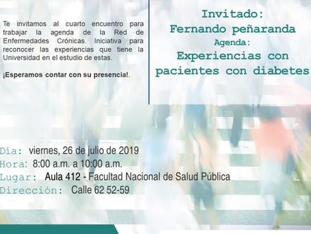 Invitación al encuentro académico REC Julio 26
