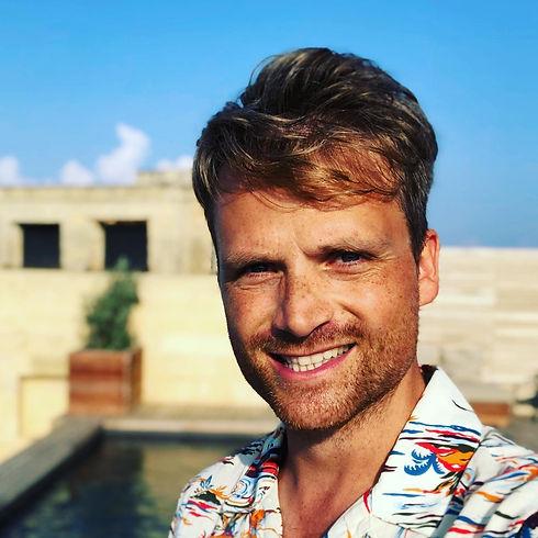 Television presenter Ben Hillman